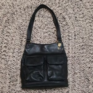 Mint VTG FOSSIL LEATHER PURSE